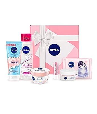 NIVEA Geschenkbox Rosa Pflegeset