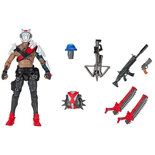 """Fortnite Legendary Series, X-Lord (Scavenger), 1 Figure Pack - 6"""" Articulated Action Figure - Includes Harvesting Tools, Weapons, Back Bling, Consumable - Collect Them All"""