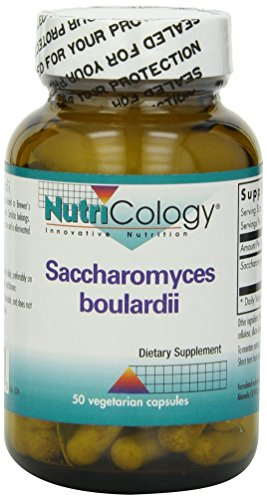 Nutricology Saccharomyces Boulardii, Vegicaps, 50-Count