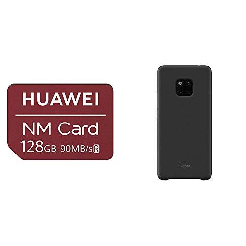 Huawei Nanomemory Speicherkarte 128G für Mate20/Pro &  51992668 Silicone Case, passend für Mate 20 Pro, Black