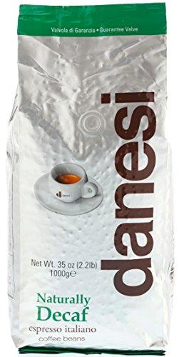 Danesi Decaffeinato (Entkoffeiniert), Bohne, 1er Pack (1 x 1 kg)