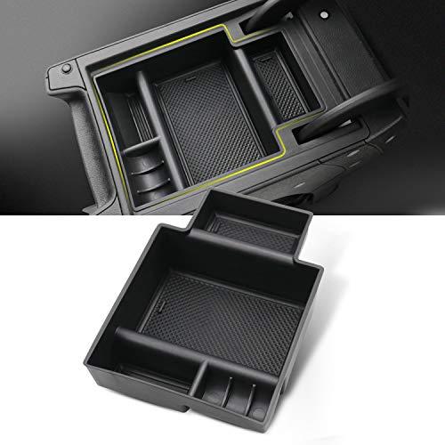 YEE PIN SEAT Leon MK3 Cupra 5F Mittelkonsole Aufbewahrungsbox/SEAT Leon FR Handschuhfach für Armlehne Organizer Zubehör Mit Rutschfestermatte