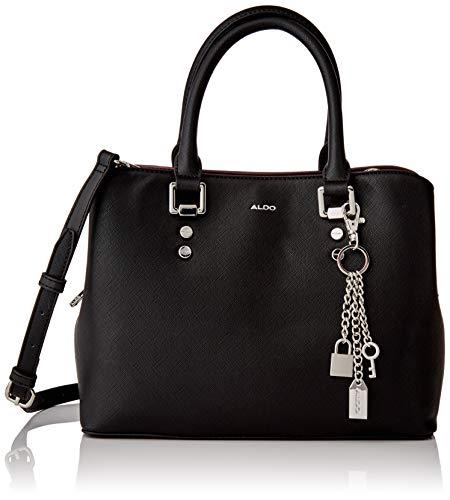 ALDO Damen LEGOIRI Handtasche, Andere Schwarz, 28