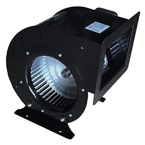 Uzman-Versand OCES radiaalventilator, radiale ventilator, centrifugaalventilator, afvoerlucht, metaal, radiale ventilator, afzuigventilator, radiale motorventilator, centrifugaalmachine