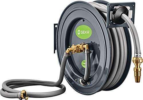 Power&Handel GEKA Schlauchaufroller PA 20 SK f.Wasser GEH.pulv.STA Ausgang 3/4 Zoll