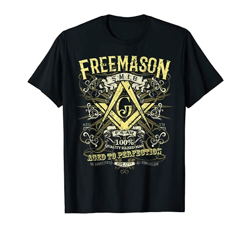 Masonic Shirt Est 1717 Classic Vintage Distressed Style