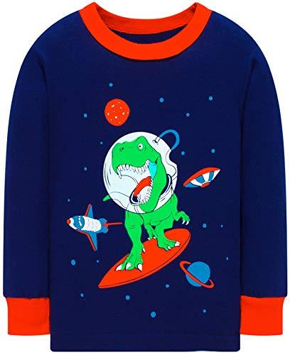 Boys Truck Pajamas Christmas Kids Cotton Pjs Children Excavator Cute Sleepwear