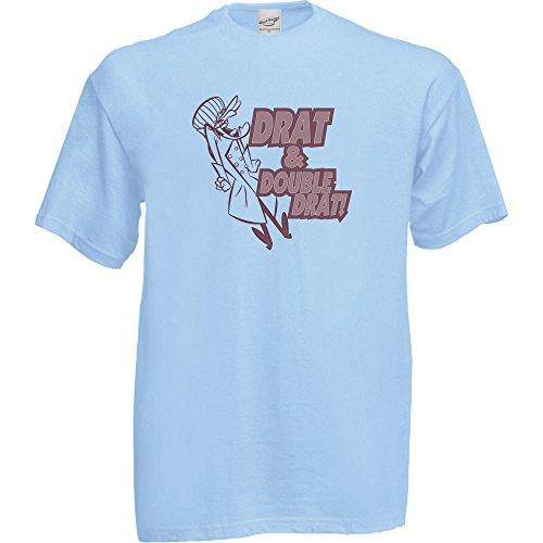 Kids Drat and Double Drat Dick Dastardly T-shirt