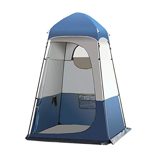 Extra Large Privacy Tent, 160160240CM Portable Pop Up Tents, Instant Changing Room Fishing Bathing Camping Shower Tent Camp Toilet for Outdoors Hiking, w/Pole+Peg+Rope+Storage Bag