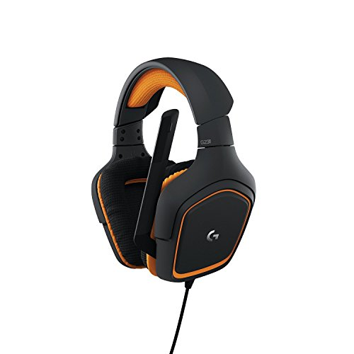 Logitech G231 Prodigy Stereo Gaming Headset with Microphone for PC, Playstation 4, Xbox ONE, Nintendo Switch, VR, Android and iOS(Renewed)