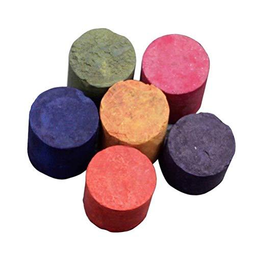 Amosfun Pastel de Humo de 6 Colores Accesorios de fotografía Escenario de Cine Fiesta Set de película