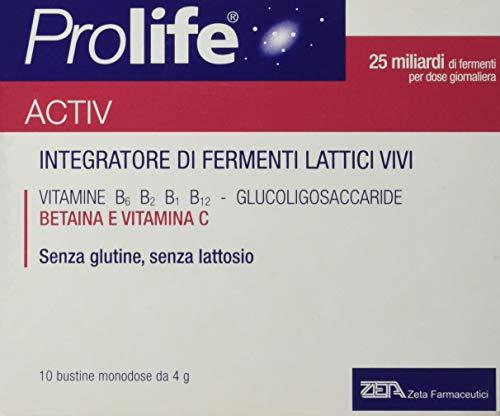 Prolife Activ - Integratore con 25 Miliardi di Probiotici (Fermenti Lattici Vivi) per Dose - 40 gr