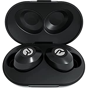 The Everyday Raycon Bluetooth Wireless Earbuds with Microphone- Stereo Sound in-Ear Bluetooth Headset E25 True Wireless Earbuds 24 Hours Playtime (Matte Black)