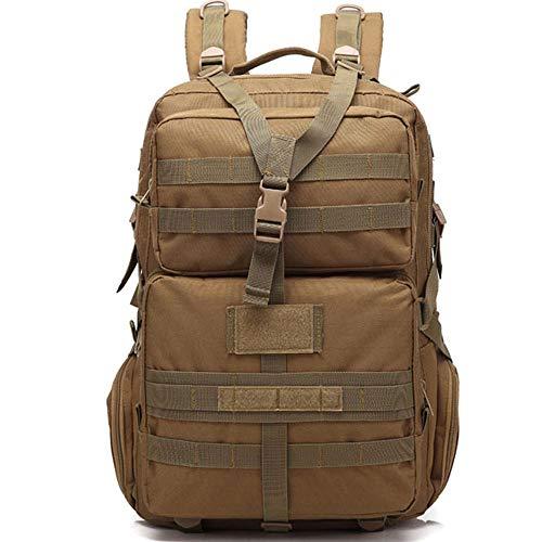 屋外バックパック、大容量、便利で軽量、ナイロンライニング、メインバッグ、サブバッグなどに分割、長期屋外使用に適しています