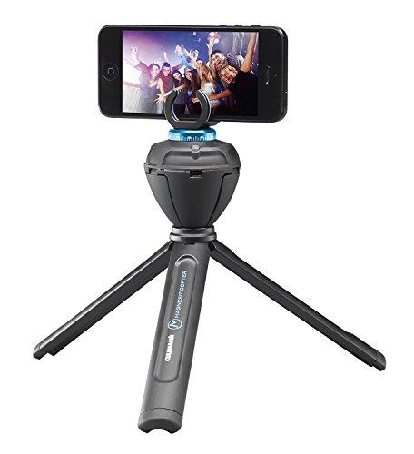 Cullmann 50225 SMARTpano 360CP elektronischer Panoramakopf mit IR-Fernbedienung für Kamera/Smarphone schwarz