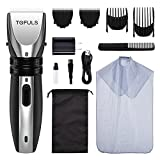 Hair Clippers - Professional Hair Clippers for Men, Mens Hair Clippers for Hair Cutting, Electric Hair Trimmer with Haircut Kit, Rechargeable Precision Hair Cutting Kit for Barbers with Extra Blade