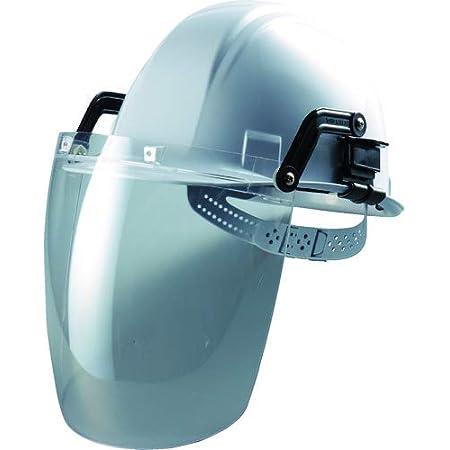 TOYO フェイスシールド セーフティIR ヘルメット取付け型 透明レンズ No.1175-C