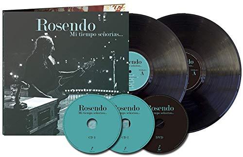 Rosendo - Mi Tiempo Señorías…(2 LP+2CD+DVD) [Vinilo]