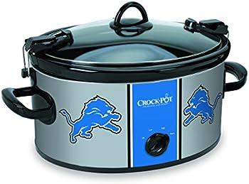 Crock-Pot 6 Quart NFL Detroit Lions Slow Cooker
