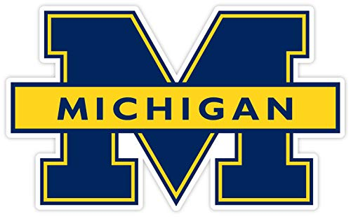 University of Michigan Vinyl Decal Wall Art //Any-Size//Football Michigan Wolverines Car Bumper Stickers (7