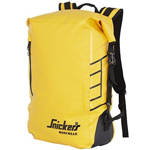 Snickers 96100600000 Wasserdichter Rucksack in gelb