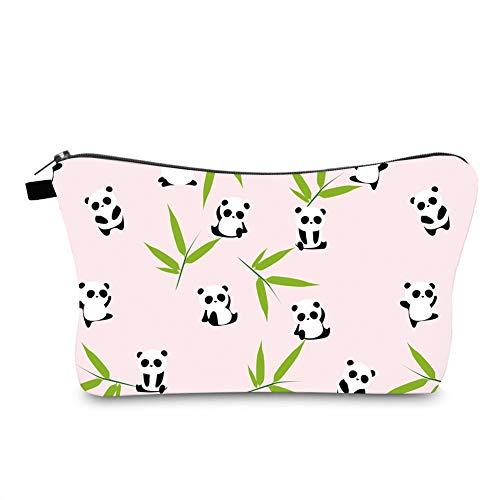 Jom Tokoy Hakuna Matata Makeup Bag Travel Case Cosmetic Bag (panda 1093)