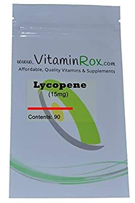 Lycopene [15mg] - 90 Soft Gel Capsules