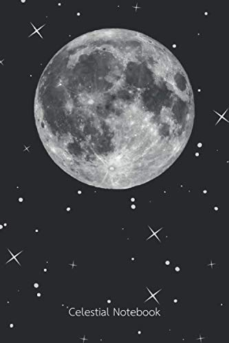 Compare Textbook Prices for Celestial Notebook: A dot matrix notebook with a celestial design, full moon and stars  ISBN 9798715869906 by Celestial Press