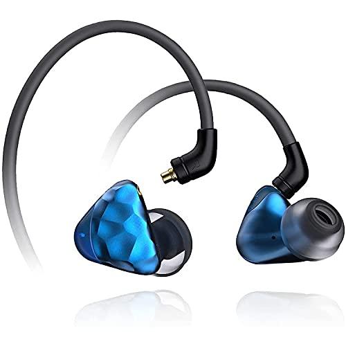 IKKO Gems OH1S in-Ear Monitor,Wired Earbuds Headphones, Noise-Isolating IEM Earphones...