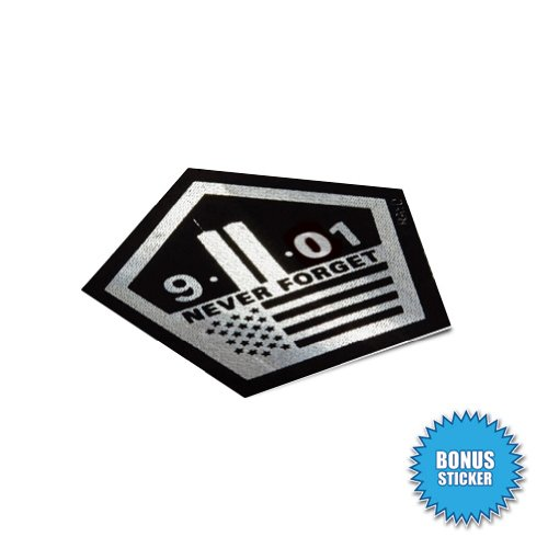 (2x) Star of Life - EMT Sticker #2 - Decal - White - Die Cut