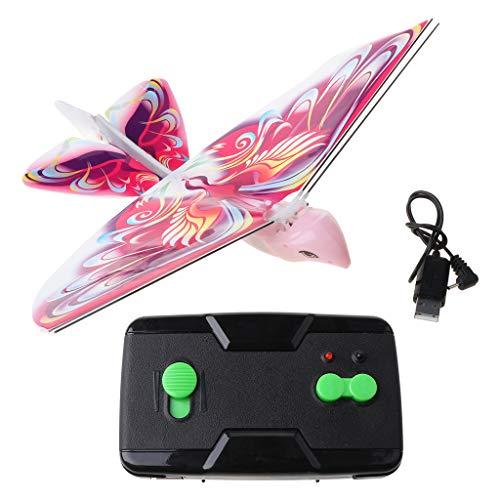 Irjdksd Elektrischer Adler ferngesteuerter bionischer Vogel fliegender Flügel flatternde Simulation Vogelspielzeug Geschenk für Kinder