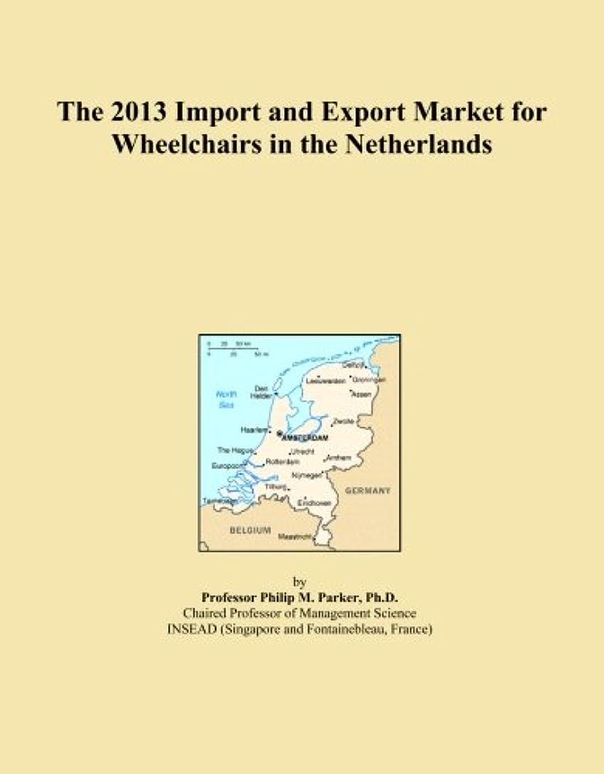 チキンきゅうりくるみThe 2013 Import and Export Market for Wheelchairs in the Netherlands
