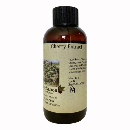 OliveNation Pure Cherry Extract - 2 ounces - Great for use in sauces, dressings and desserts all year round - baking-extracts-and-flavorings