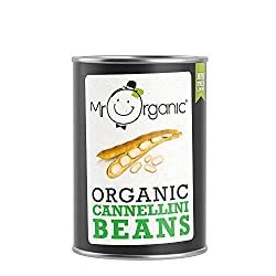Organic cannellini beans simply in water No added salt and sugar Cooked and ready to eat Gluten free Veggie & vegan friendly