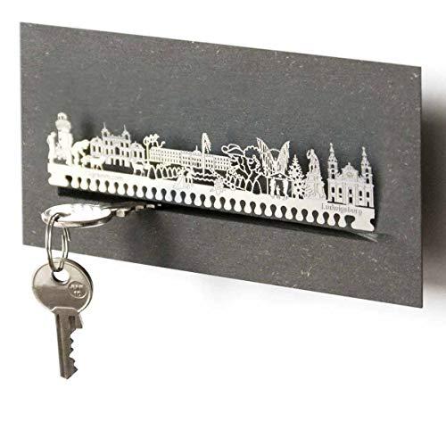 13gramm Ludwigsburg-Skyline Schlüsselbrett Souvenir in der Geschenk-Box