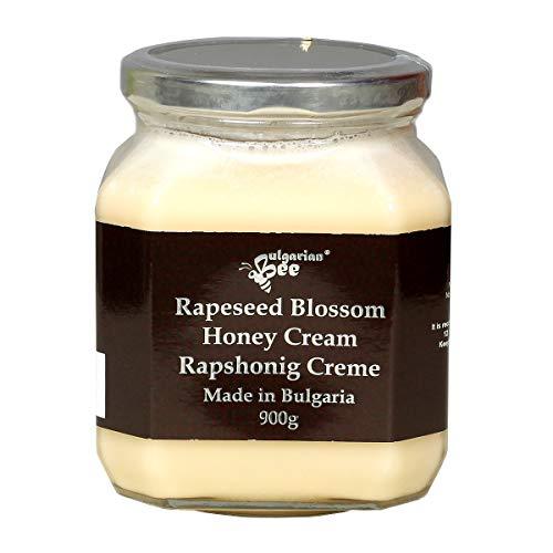 900 g Rauwe Witte Koolzaad Honing, Puur, Onverwarmd, Onbehandeld, Zonder Suiker