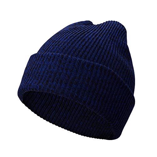 Motorize A.P. Donovan - Herren Wintermütze aus Baumwolle | Wintermütze Strickmütze | Wollmütze Beanie (Blau)