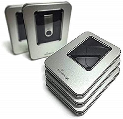 MediaRange aluminium opbergdoos zilver BOX901 voor USB-geheugensticks