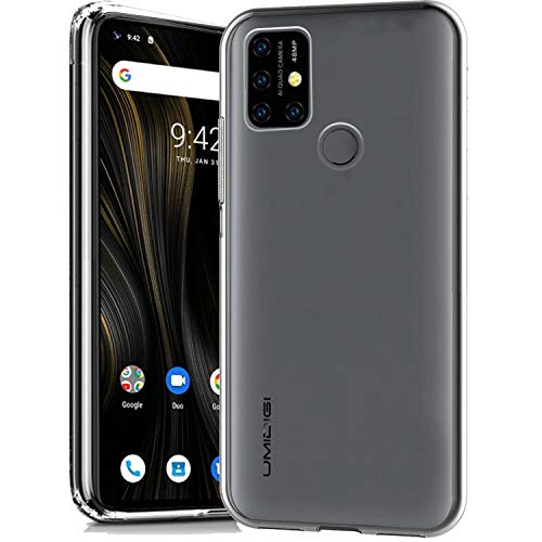 cookaR Crystal Clear UMI Umidigi Power 3 Hülle, Transparent Silikon TPU Hülle Superdünn Soft Cover Handyhülle Schutzhülle für UMI Umidigi Power 3 Smartphone, Transparent