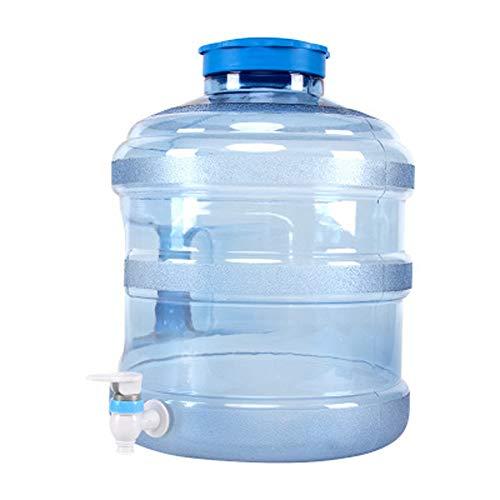 KGDC 12L Wasserspeichereimer mit Wasserhahn, Haushalts-Trinkwasserfass mit großer Kapazität, auslaufsicher, für Picknick im Freien geeignet, viel Trinkwasser aufbewahren
