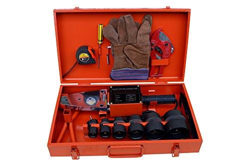 Muffenschweißgerät 1500W Schweißgerät für PE PP PB PVDF Ø20-63mm Rohr Fitting