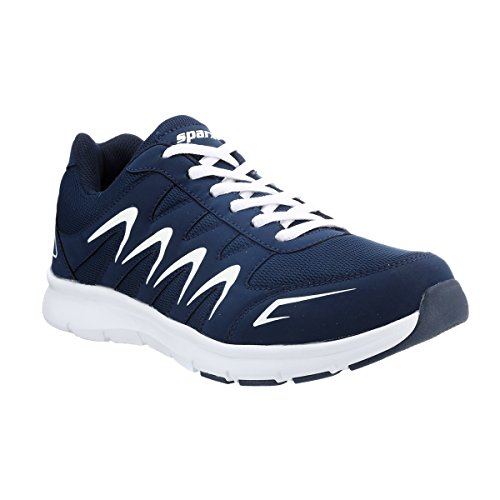 Sparx Men's Navy Blue and White Running Shoes - 7 UK/India (41 EU)(SX-276)