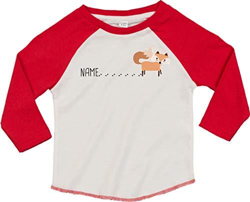 Kleckerliese T-shirt à manches longues pour bébé et enfant avec inscription en allemand \