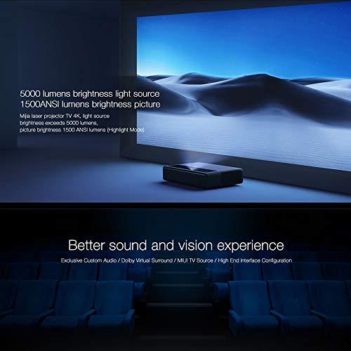 Xiaomi 4K Projector, MJJGTYDS01FM Ultra Short Focus ALPD 3.0 Laser ...
