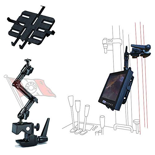 Onyx DO-JQ Halter für Tablet iPad Kamera 7-11 Zoll für Stapler Trecker Werkstatt Lager 1,5 kg Tragkraft, aus Aluminium