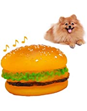 Pet Hamburger Chew Toys Squeaky Sound Toy Toys for Small Dogs Puppy