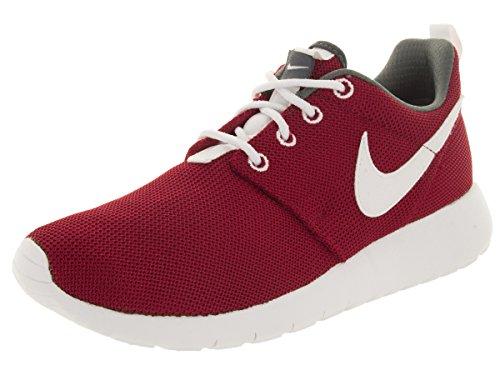 Nike Roshe One (GS), Chaussures de Running Compétition garçon, Rojo/Blanco/Gris (Gym Red/White-Dark Grey), 35.5 EU