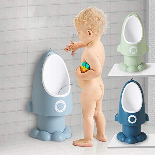 YUMOAおまる便器トイレトレーニング小便器自立式取り外し可能取り付け簡単男の子用