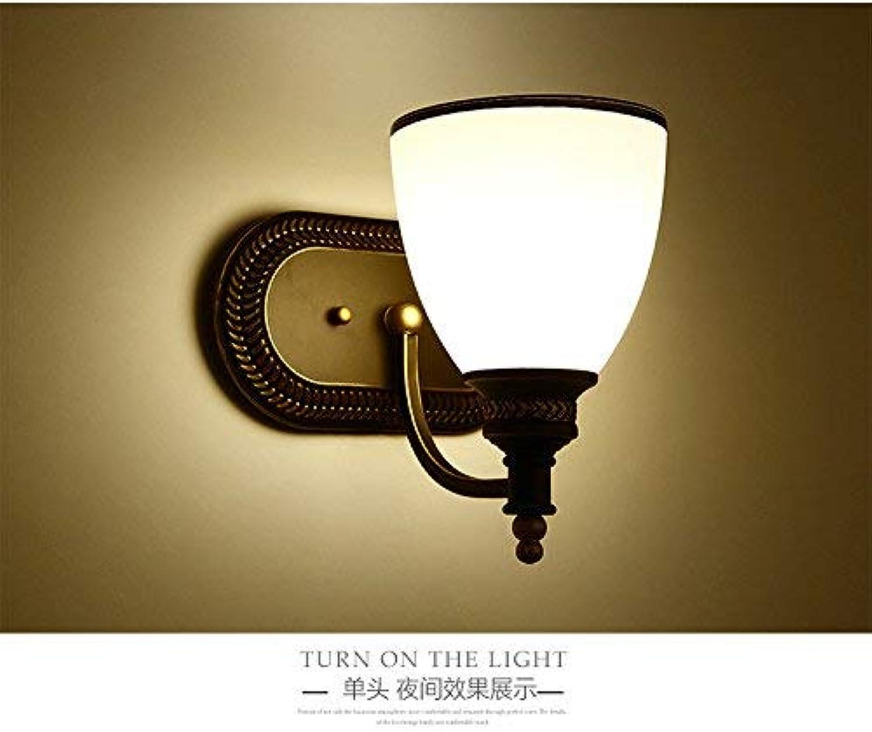 QSM Moderne minimalistische Innenwand-Licht-Befestigung, Spiegel-Scheinwerfer-Badezimmer-Wand Lamped Spiegel-Lampe Badezimmer-Spiegel-Lampen-Badezimmer-Wasserdichte Aluminiumspiegel-Lampen-Wand-Lampe B07HVHYJY5       Überlegene Qualität