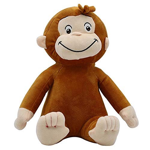 Curious George Curious George Kinderen Kussen Monkey Leuke knuffel pop (Color : Multi-colored)